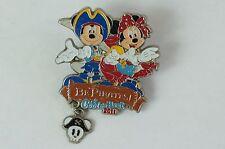 Tokyo Disney Resort Pin Cool The Heart 2011 Be Pirates! Mickey Minnie TDR