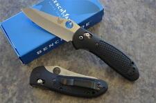 Benchmade 550HG Griptilian w/ 154CM Plain Edge Blade & Axis Lock & Black Handles