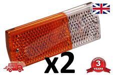 2 X Front Side Indicator Lamps Fits Massey Ferguson 240 265 275 285 290 298
