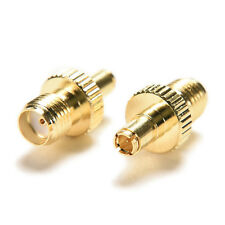 1X Gold plating Adapter TS9 male plug to SMA female jack RF connector straightFG