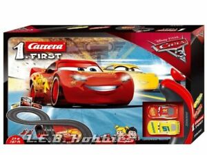 Carrera First Disney Cars 3 - Slot Car Race Track - Includes 2 cars