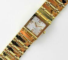 Regent Damenuhr Armbanduhr Damen Edelstahl massiv vergoldet  NEU