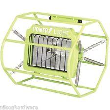500 Watt Halogen Cage Floor Space Portable Work Shop Stand Light Fixture L-113