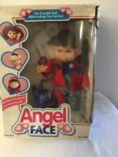 Vintage Berenguer 1995 Angel Face Doll In Original Box/never Used