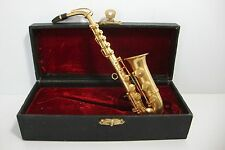 Miniature Saxphone with Fitted Case