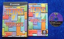 Tetris Worlds, Nintendo GameCube Spiel, OVP Anleitung