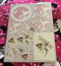 Flower Fairies ~ Die Cut Decoupage Card Making Kit ~ Set 2 ~ Brand New
