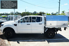 BRAND NEW ALUMINIUM UTE TRAY & CANOPY PACKAGE - DUAL CAB - FORD RANGER