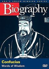 NEW Biography: Confucius (DVD, 2005)