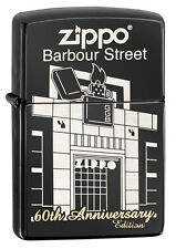 Zippo 60th Anniversary Barbour Street Windproof Lighter 28790 New