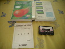 >> GOLF HUDSON SOFT SHARP X1 JAPAN IMPORT CIB! <<