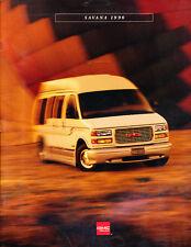1996 GMC Truck Savana Van 28-page Original Sales Brochure