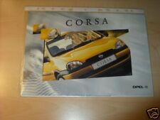 10547) Opel Corsa B españa folleto 1997