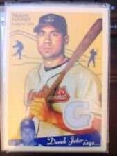 2008 Upper Deck Goudey Travis Hafner Game-Used Jersey