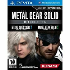 Metal Gear Solid HD Collection For Ps Vita Shooter 4E