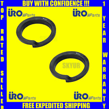 BMW Coil Spring Seat Suspension Front Upper E34 535i URO (9MM) 31331128522 set 2
