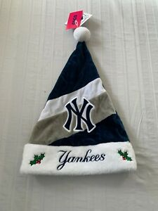New York Yankees MLB Santa Hat Forever Collectibles Brand New