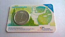 Nederland 2013 Coincard 5 Euro Het Vredespaleis Vijfje UNC Zwaar Verzilverd