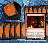 mtg RED MENACE DECK Magic the Gathering rare 60 cards + sin prodder BFZ