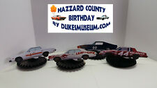 DUKES OF HAZZARD-  HAZZARD COUNTY BIRTHDAY DECORATIONS- CARNIVAL CAR FANS