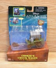 Disney's Atlantis The Lost Empire Cookie's Chuck Wagon By Mattel **NEW-READ**