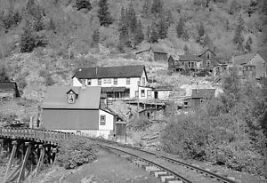 "1940 Gold Mining Town Ophir, Colorado Vintage Old Photo 13"" x 19"" Reprint"