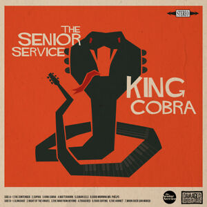 The Senior Service - King Cobra LP **Graham Day/Prisoners/MEDWAY**