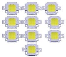 100PCS 10W LED Pure White High Power 600-800LM LED Lamp SMD Chips Light Bulb 12V