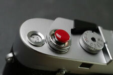Mr.Stone Convex Shutter button release for Leica FUJI Canon Nikon And Other Red