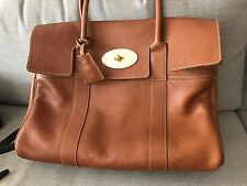 Mulberry Brown Bayswater Bag Purse-Made In England-Wonderful!