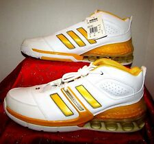 NEW ADIDAS AST ARTILLERY 2 ARTI NBA BOUNCE YELLOW WHITE BASKETBALL SHOES  SIZE 19 e4738e92a12a