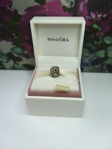 Authentic Genuine Pandora #790292 Solid Silver Flower Cluster Charm