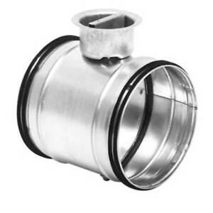Absperrklappe DTU dichtschließend mit Lippendichtung NW 80 bis 355 mm Rohreinbau