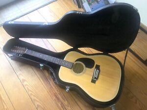 Rarität! 12-Saiten-Gitarre FENDER F55-12, Acoustic, inkl. Gitarrenkoffer