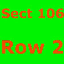 (2) LA LAKERS vs SAN ANTONIO SPURS Tickets *10/22/18* ===SECTION 106, ROW 2=====