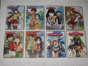 Love Hina - Vols 1 - 6 + Spring & Christmas Special - Like New - Anime - R4  DVD