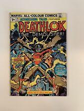 Astonishing Tales 25 -- First Appearance of Deathlok! Key Book!