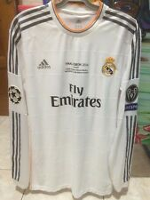 Alvaro Morata Champions League Final 2014 Lisbon Real Madrid Home Shirt Jersey