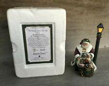 2003 Thomas Kinkade St. Nicholas Collection St Nicholas Packs His Bag 1523A