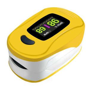 Health Force A3 Oximeter SpO2 PR PI Pulse Intensity Bar Graph Photoplethysmogram