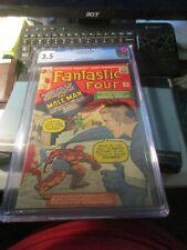 1964 Fantastic Four #22 CGC 3.5