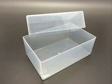 250x Plastic Storage Box for Business Card