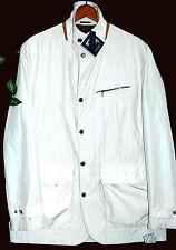 Paul&Shark Yachting AUTHENTIC Men's Off White Italy Coat Jacket Sz XL $1035