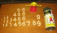 Vintage Add 'n' Weigh Toy Scale W/ Container Tot Guidance 1950's Rare!