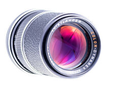Voigtländer color Dynarex 135 mm f 4 con Rollei qbm puerto sn:2388842