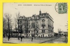 cpa FRANCE 92 - COLOMBES Hauts de Seine HÔTEL de VILLE et KIOSQUE à MUSIQUE