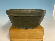 Custom Handmade 2nd Gen Tokoname Bonsai Tree Pot Made By Yamaaki 14 1/2 By 5 1/2