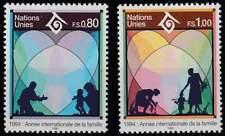 Nations Unies - Geneve postfris 1994 MNH 243-244 - Jaar van de Familie