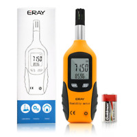 ERAY Temperature and Humidity Gauge Meter with Backlight Digital Psychrometer