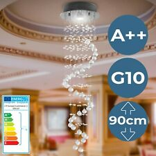 Kristall Deckenleuchte LED Kronleuchter Deckenlampe Kristallkronleuchter